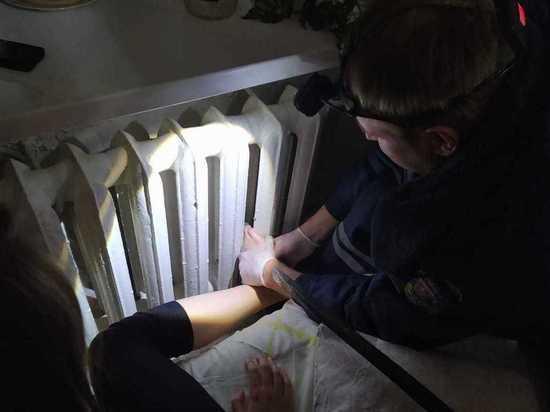 13-летняя девочка из Егорьевска застряла, когда пыталась согреться