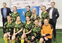 Женская команда «Московский комсомолец» стала победителем Кубка университета «Синергия» по женскому любительскому футболу
