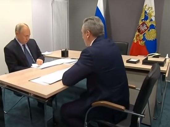 Тюменский губернатор уточнил свои данные после опровержения Путина
