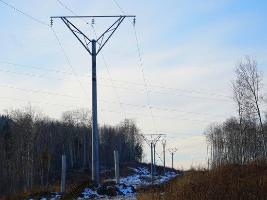 На Тимлюйском цементном заводе в Бурятии обновили опоры линии электропередачи 35 кВ