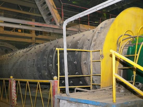 На Тимлюйском цементном заводе в Бурятии завершили ремонт цементной мельницы