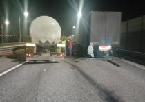 На трассе М-5 в Рязани произошло массовое ДТП с фурами, пострадали двое