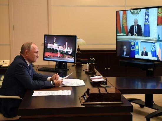 Политическая турбулентность в трех из шести стран ОДКБ наложила отпечаток на проведение саммита глав государств постсоветского военного блока