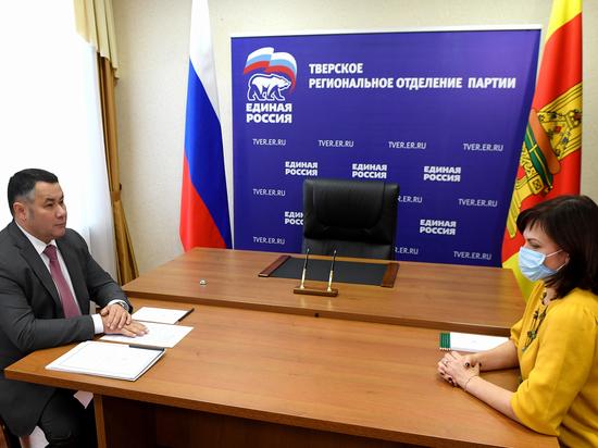 Новая жизнь школе и дорогам: Игорь Руденя провел личный прием граждан