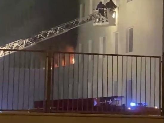 В Москве загорелась больница на улице Дурова