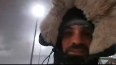 """На Норильск обрушилась """"Черная пурга"""": кадры снежного бурана"""