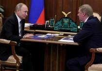 Пресс-секретарь президента Дмитрий Песков объяснил, почему Путин не встретился с отправленным в отставку Анатолием Чубайсом