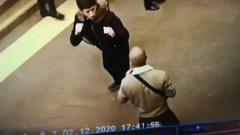Массовая драка в петербургском метро попала на видео