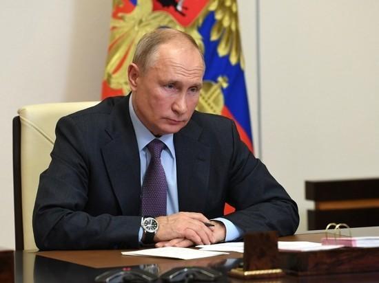 Президент Владимир Путин в ходе онлайн-встречи с представителями общественных организаций обратился к одному из участников с просьбой помнить о своей семье, принимая рискованные решения