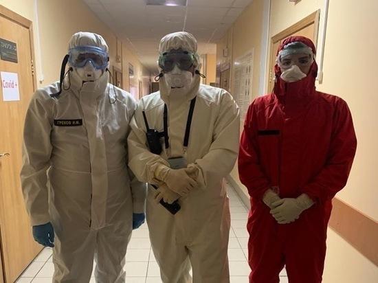 Игорь Греков посетил «красные зоны» пяти больниц Рязанской области