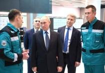 Президент России побывал с рабочим визитом в Тюменской области