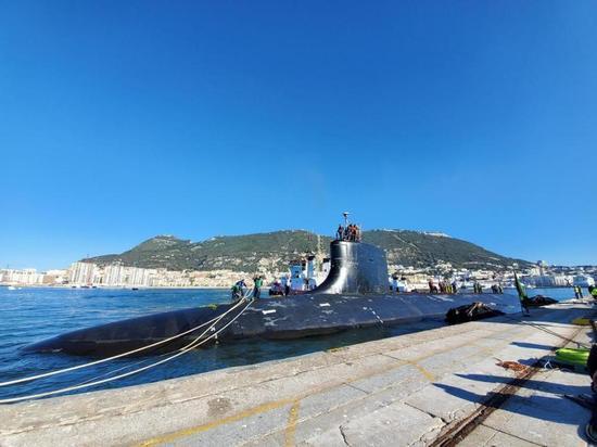 «Тихий охотник» ВМС США всплыл в Гибралтаре