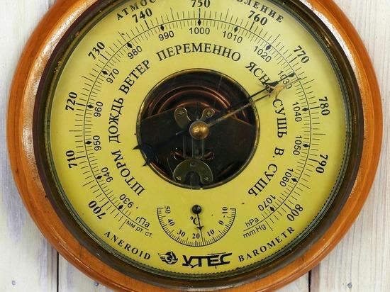 Синоптики предупредили о рекордном атмосферном давлении в Москве