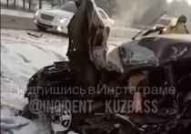 Девушка погибла в страшном ДТП с грузовиком на кузбасской трассе