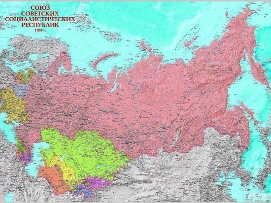 Если бы агония Советского Союза затянулась, сегодняшняя карта РФ была бы совсем другой