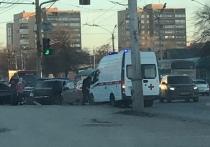 В Рязани на Московском шоссе столкнулись две машины