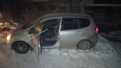 Погоня за угнанным автомобилем в Новосибирске 4 декабря