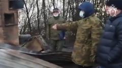 Следователи опубликовали видео с места убийства семьи в Волоколамске