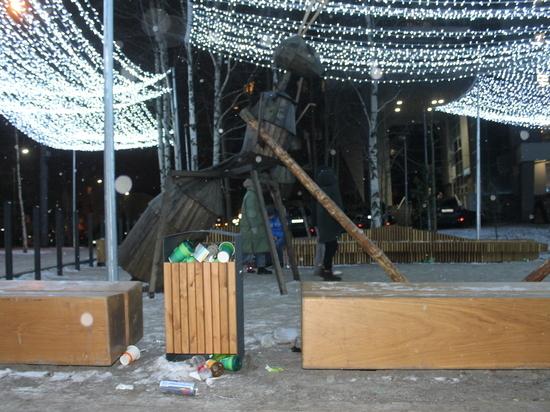 Молодёжный сквер Архангельска не оправдал надежд горожан