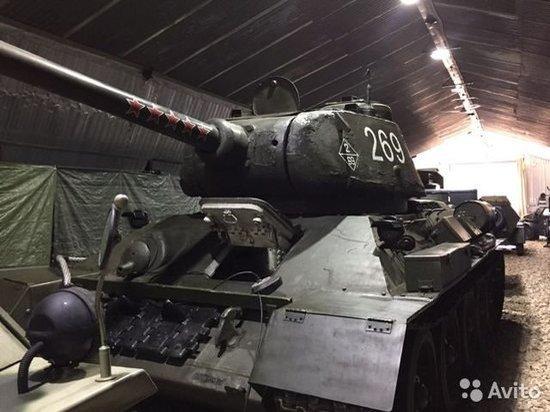 В Тверской области продают участвовавший в сражениях Великой Отечественной войны Т-34