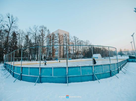 13 лыжных трасс и 16 хоккейных площадок заработают в Чебоксарах