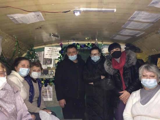 Восьмой день голодают обманутые дольщики Новомарусино в Новосибирске
