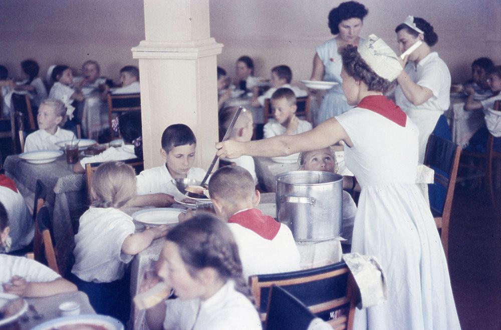 Пионерское детство в СССР: редкие кадры