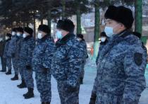 Сводный отряд полиции Тувы отправился на Северный Кавказ
