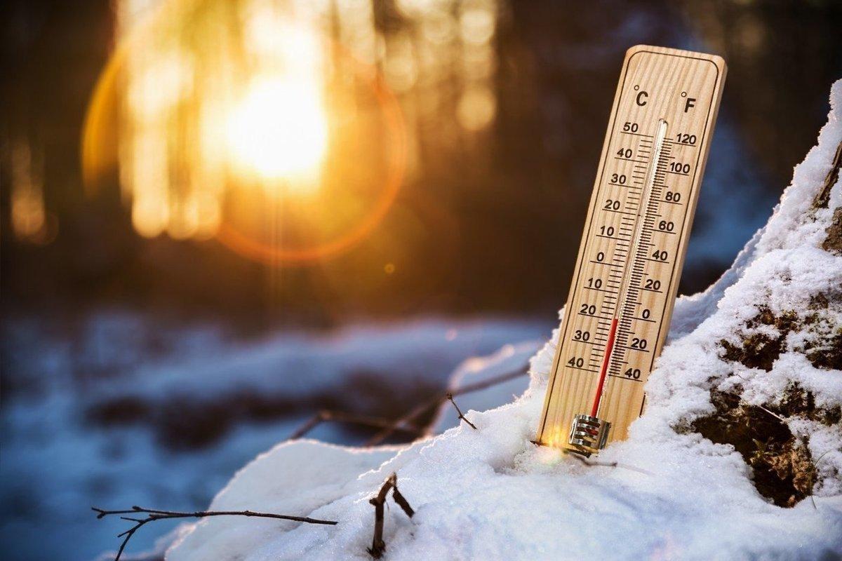 Морозы и небольшой снег ожидаются в Курской области на этих выходных