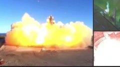 Starship Илона Маска взорвался при посадке: эпическое видео