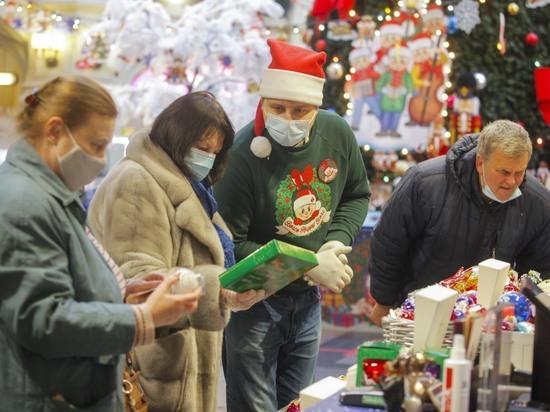 В среднем на подарки и праздничный стол может уйти по 25 тысяч рублей