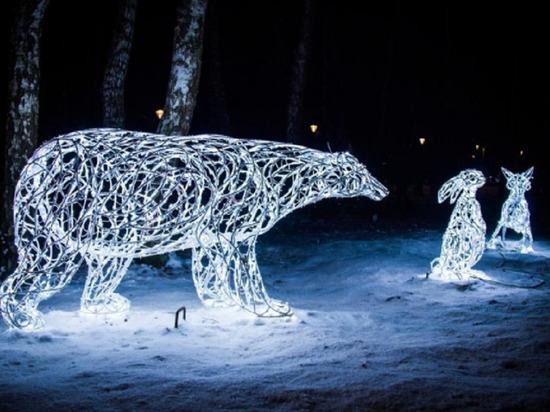 Светодиодный Дед Мороз появится на проспекте Жукова в Волгограде
