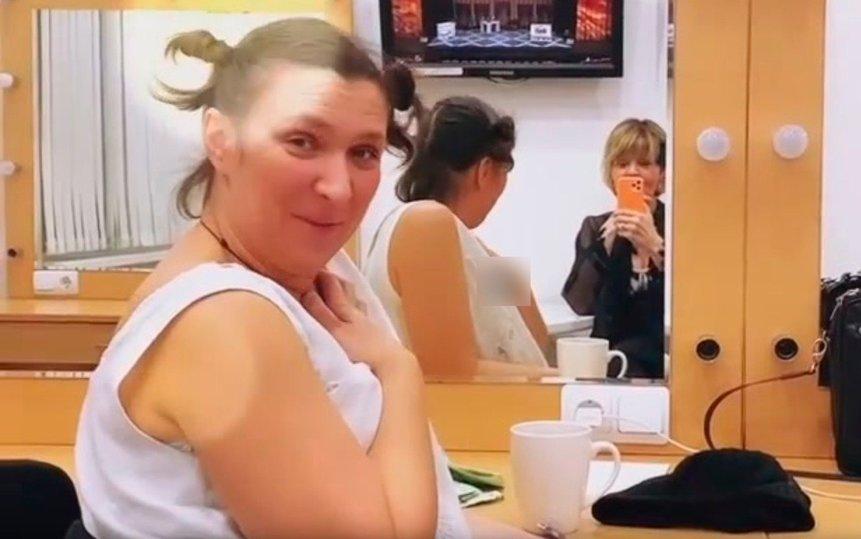 Меньшова показала чудовищно располневшую актрису Олесю Железняк