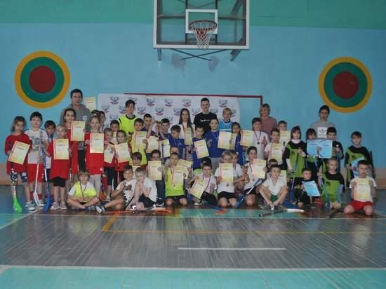 В Донецке прошел детский фестиваль по флорболу