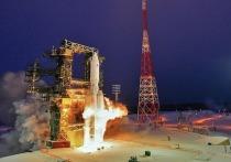 Космические войска осуществили пуск тяжелой космической ракеты «Ангара-А5»