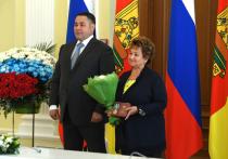 Лилия Корниенко получила поздравление с юбилеем от губернатора Тверской области