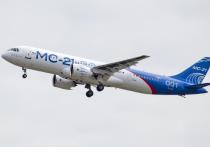 Состоялся первый полёт самолета МС-21 с российскими двигателями ПД-14