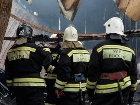 Утром под Волгоградом в сгоревшей иномарке пострадал человек
