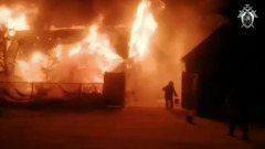 В Башкирии сгорел частный дом престарелых: более десятка погибших