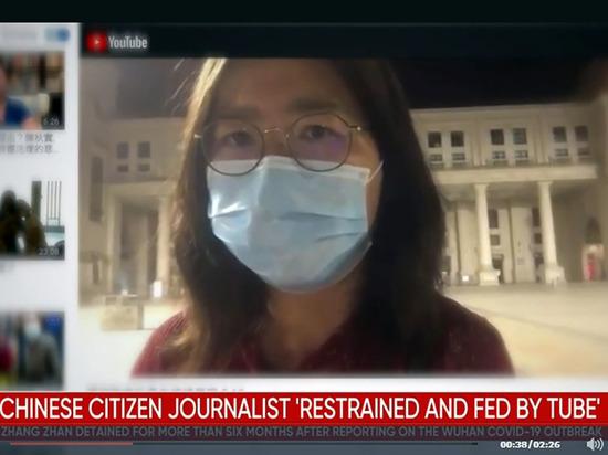 Китайская журналистка, сообщившая миру о крупной вспышке коронавируса в Ухане, может не дожить до суда