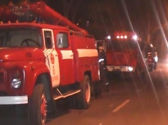 В Ивановской области в ночном пожаре сгорел частный дом