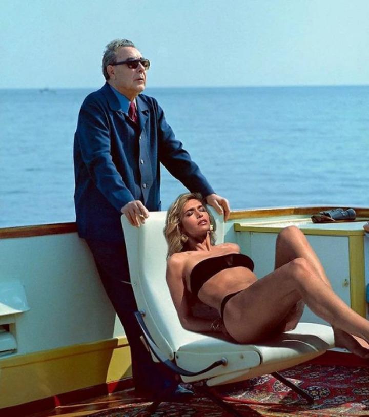 «Дочь генсека»: Вера Брежнева выложила совместное фото с Леонидом Брежневым