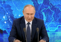 Президент России Владимир Путин заявил о «небольшом» подарке для всех российских семей с детьми до 7 лет