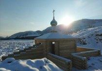 В городе Туране (Тува) освятили источник и православную часовню