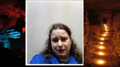 Путешественница показала тайны Сьяновских пещер