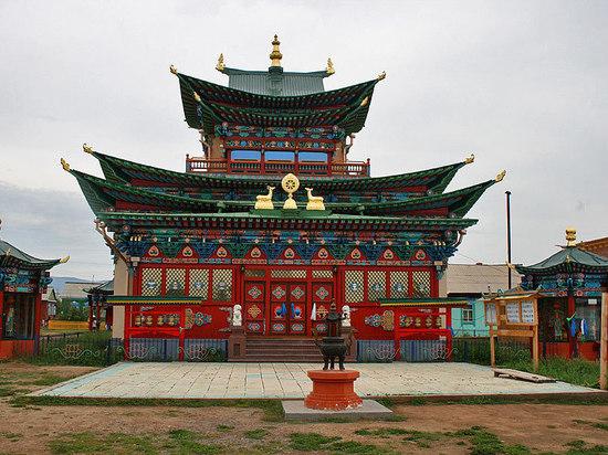 Главный храм Иволгинского дацана в Бурятии получит деньги на реставрацию