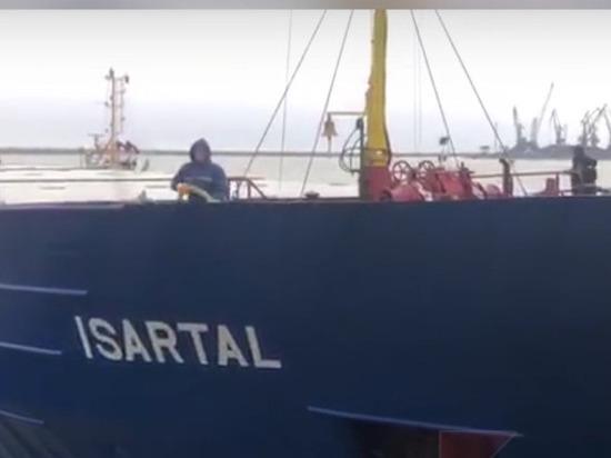 В Туапсе столкнулись два иностранных судна