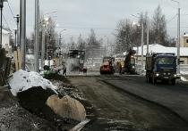 Закрытый мост на ул.Кирова в Петрозаводске начали асфальтировать
