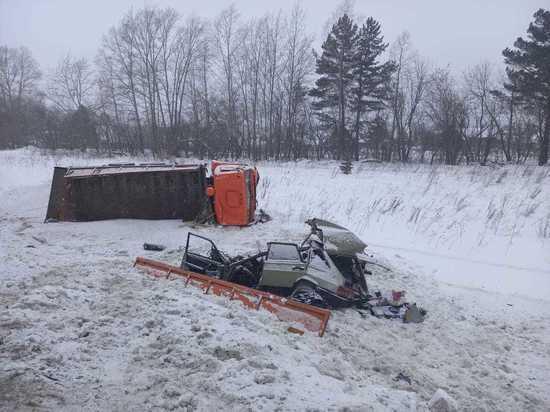 Десятилетний мальчик и двое взрослых погибли в ДТП под Новосибирском