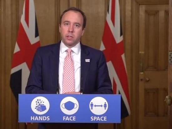 Британский министр: ситуация с мутировавшим COVID-19 вышла из-под контроля
